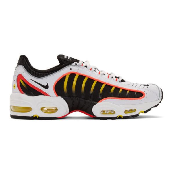 Nike Black & White Air Max Tailwind Iv Sneakers In 109Whitebla