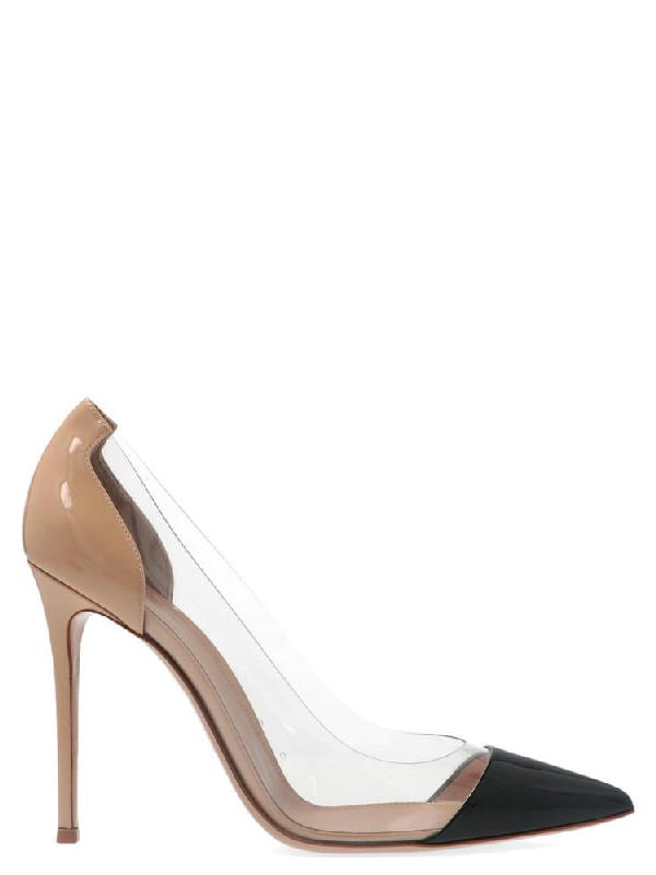 Gianvito Rossi Plexi Pumps In Multi