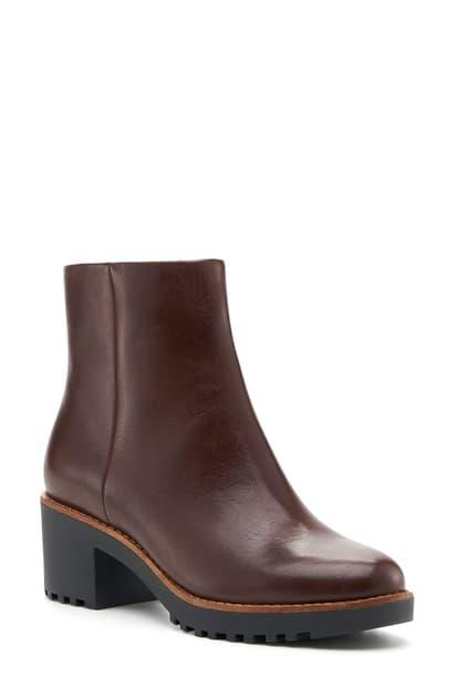 Botkier Women's Brynn Block Heel Boots In Dark Brown