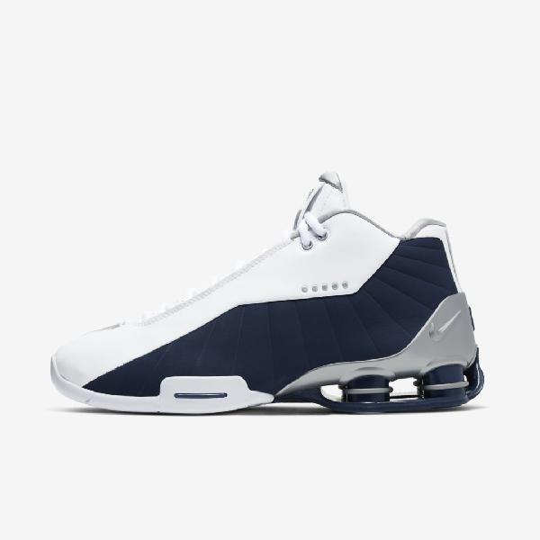 Nike Shox Bb4 Men's Shoe In White