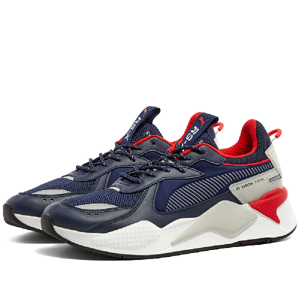 Men's Rs-x Core Sneakers In Blue