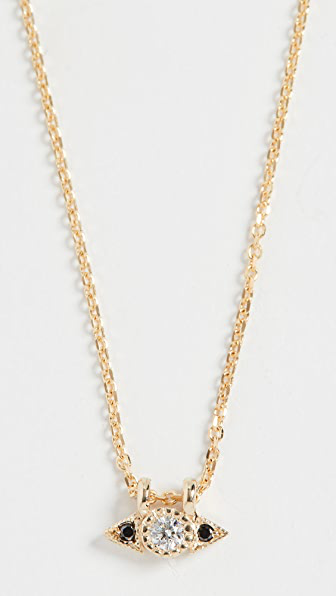 Jennie Kwon Designs 14k Diamond Spear Necklace In Yellow Gold