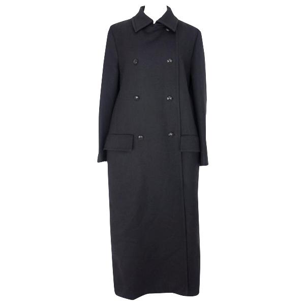 Paul Smith Black Wool Coat