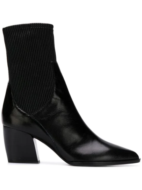 Pierre Hardy Rodeo Ankle Boots In Black Leather