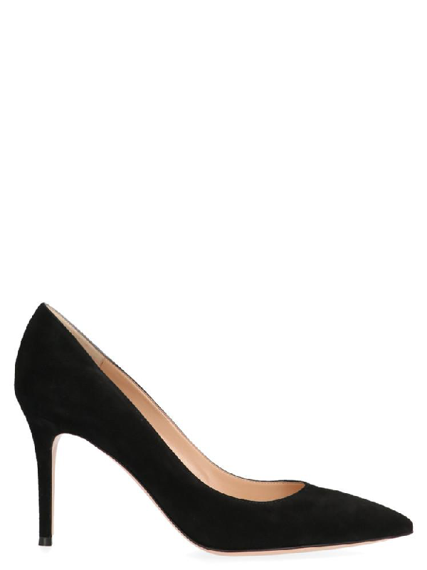 Gianvito Rossi Pointed Toe Pumps In Black