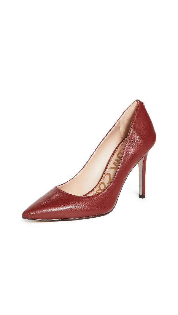 Sam Edelman Women's Hazel Pointed Toe High-Heel Pumps In Spiced Red