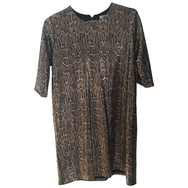 Roseanna Metallic Glitter Dress