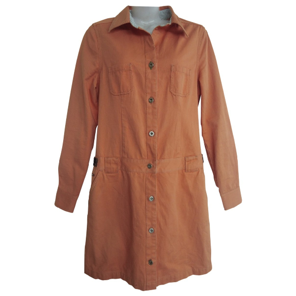 Tommy Hilfiger Orange Cotton Jacket