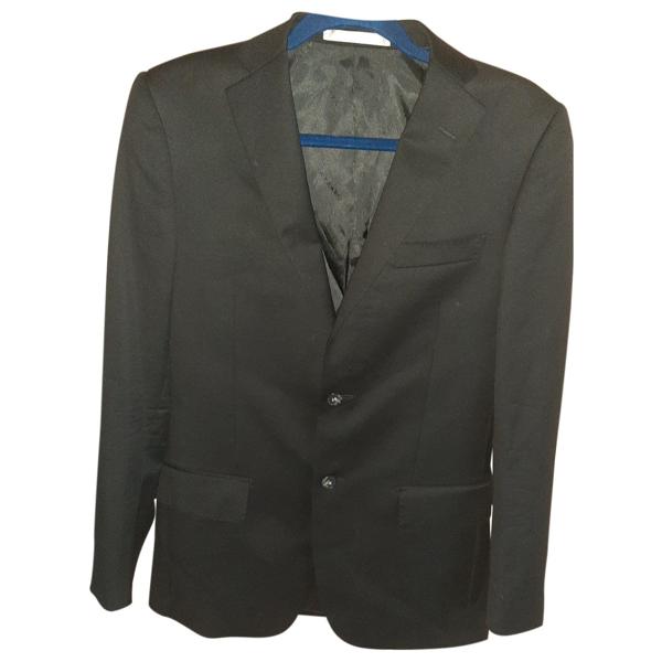 Azzaro Black Wool Suits