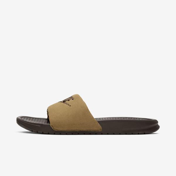 Nike Benassi Jdi Se Men's Slide In Brown