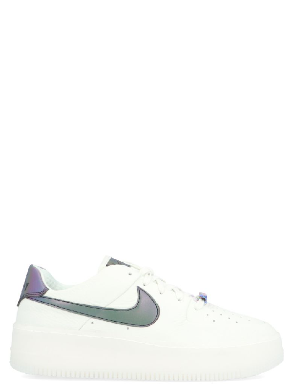 Nike Air Force 1 Sage Low Lx Shoes In White