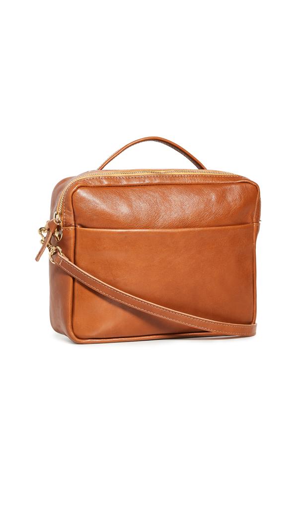 Clare V Mirabel Bag In Miel Rustic