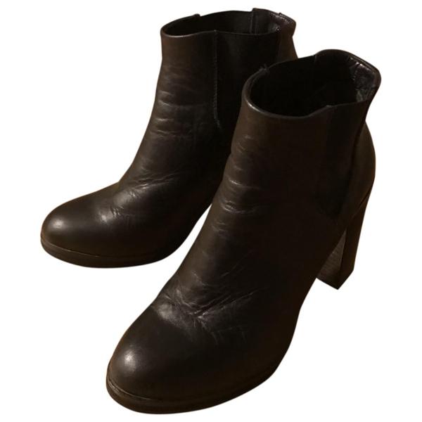 Royal Republiq Black Leather Boots