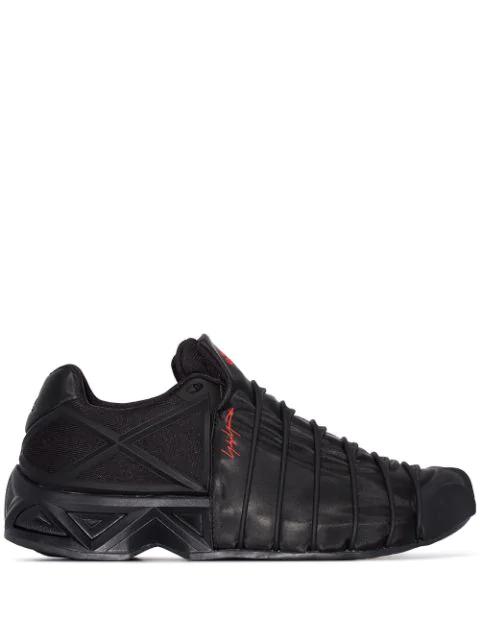 Y-3 Men's Yuuto Low-top Sneakers In Black