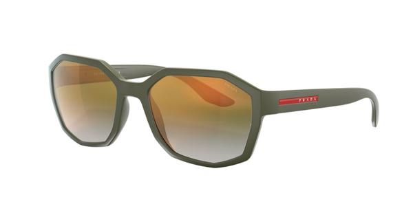 Prada Sunglasses, Ps 02vs 57 In Blue,green Gradient Mirror