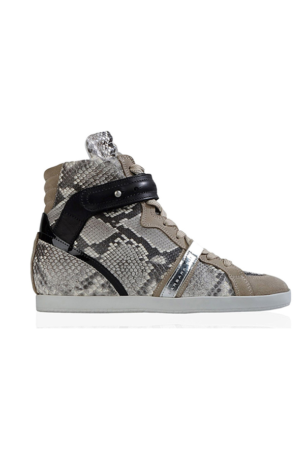 Barbara Bui Women's  Python Skin Trainers Shoes In Snake
