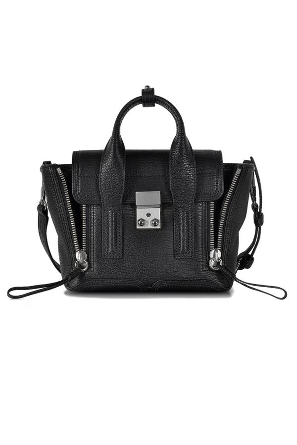 3.1 Phillip Lim Women's  Pashli Mini Satchel Bag In Black