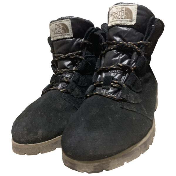 The North Face Black Suede Boots