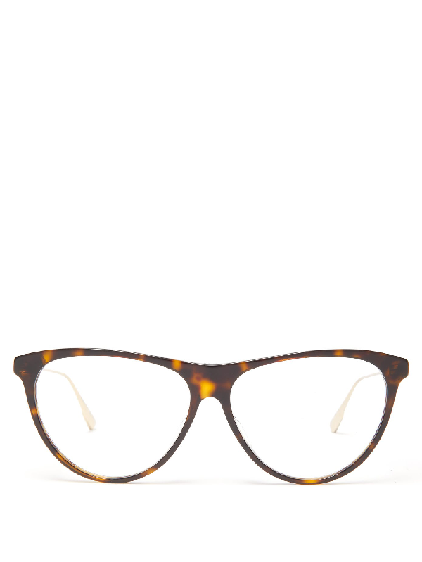 Dior My Round Tortoiseshell-effect Acetate Glasses