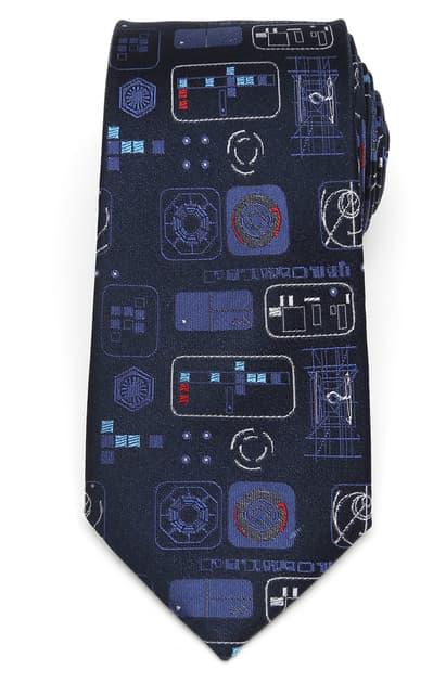 Cufflinks, Inc Star Wars Episode 9 Silk Tie In Blue
