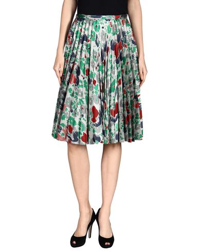 Jw Anderson Midi Skirts In Grey