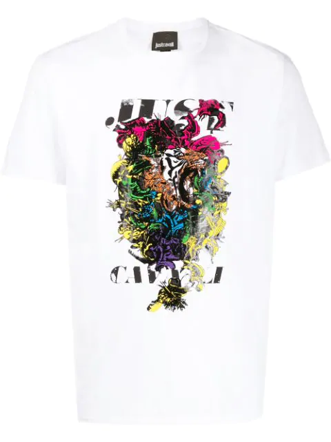 Just Cavalli Abstract In 100 White