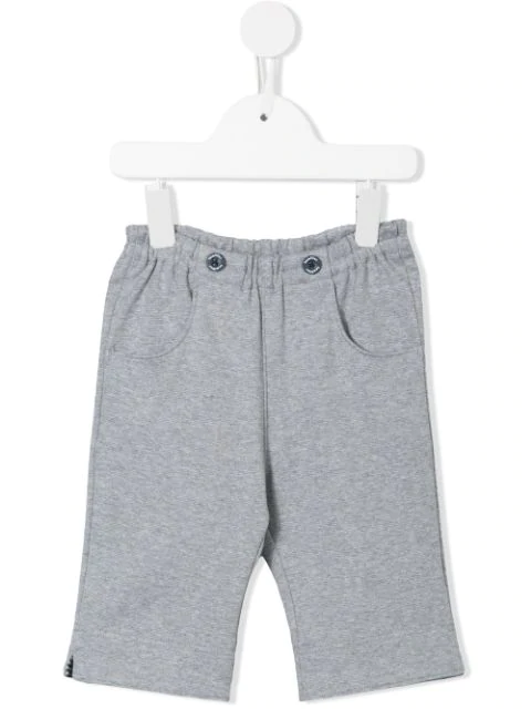 Familiar Kids' Elasticated Shorts In Grey