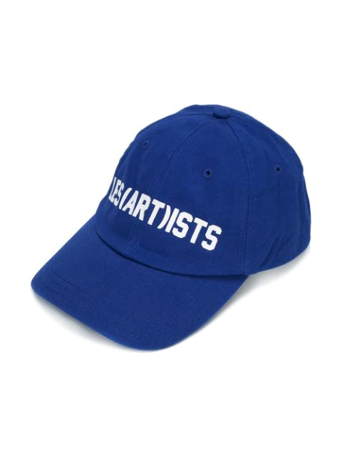 Les (art)ists Kids' Logo Printed Baseball Cap In Blue