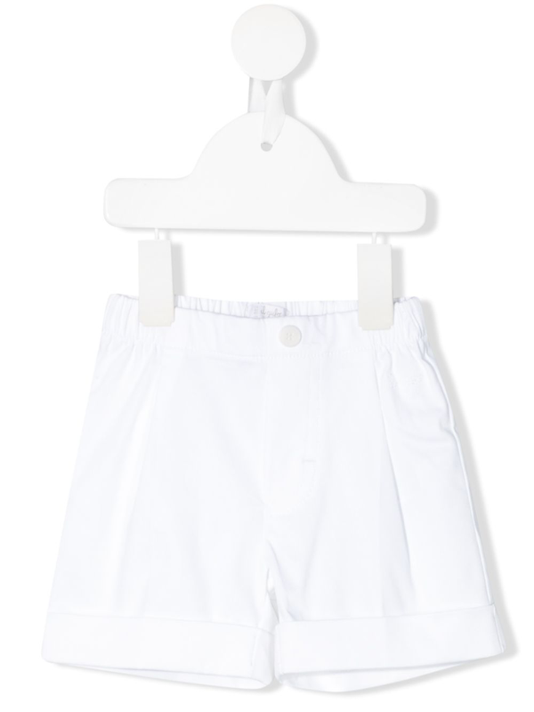Il Gufo Babies' Turned Up Hem Shorts In White