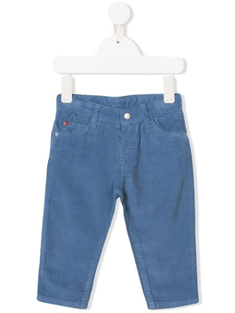 Knot Babies' Five Pocket Trousers In Blue
