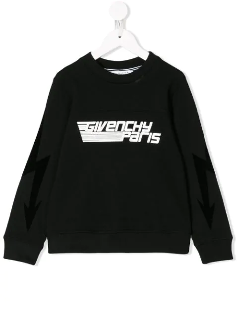 Givenchy Kids' Logo Sweatshirt In Black