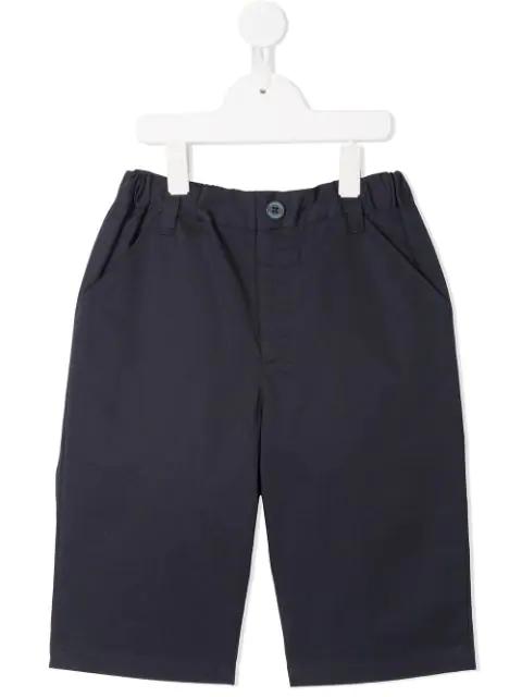 Familiar Kids' Classic Chino Shorts In Blue