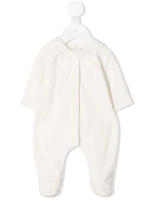 Knot Sleepyhead Babygrow In White