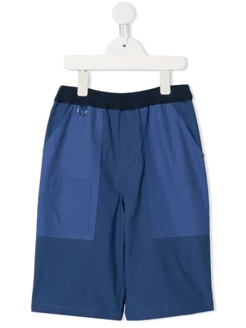 Familiar Kids' D-ring Shorts In Blue