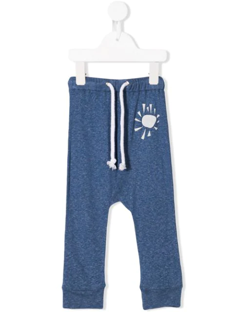 Raspberry Plum Babies' Printed Sunshine Trousers In Blue