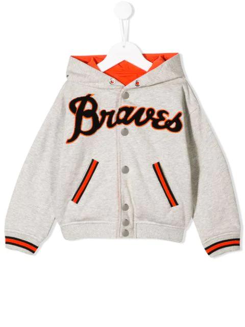 Diesel Kids' Reversible Jacket In Grey
