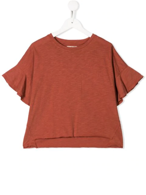 Andorine Kids' Oversized Top In Orange