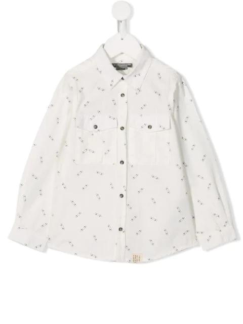 Bonpoint Kids' Marius Shirt In White
