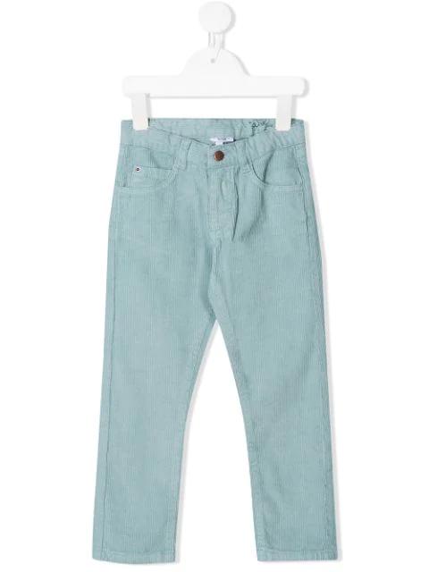 Knot Kids' Jake Corduroy Trousers In Blue