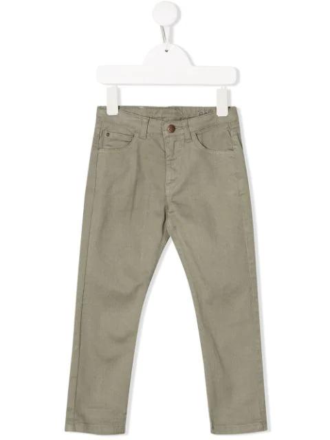 Knot Kids' Jake Trousers In Grey