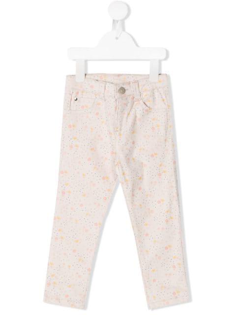 Knot Kids' Wallflower Corduroy Trousers In Neutrals
