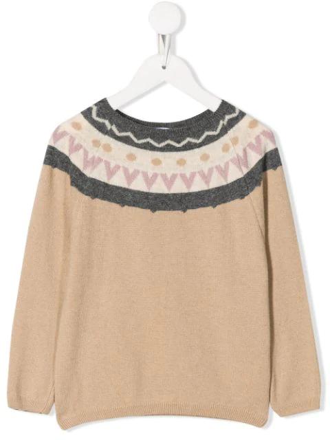 Knot Kids' Lorena Sweater In Neutrals