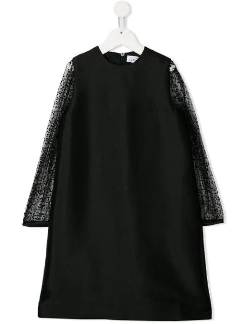 Señorita Lemoniez Kids' Roots Dress In Black
