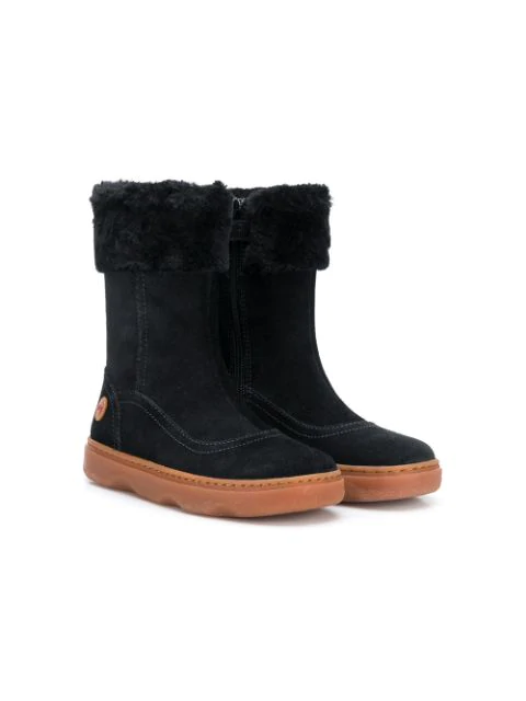 Camper Kido Boots In Black