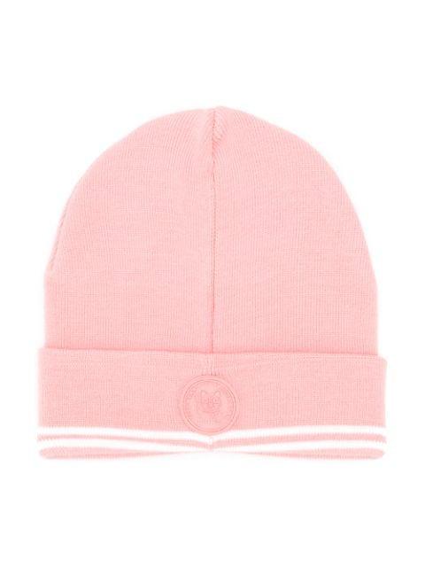 Gcds Babies' Logo Beanie In Pink