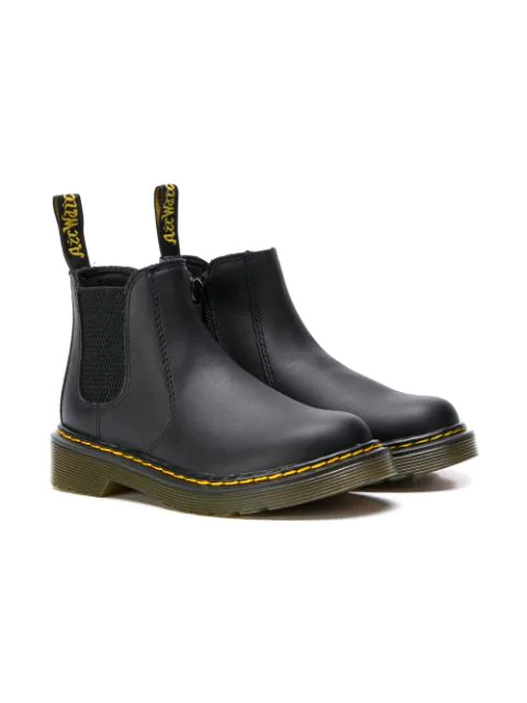Dr. Martens Kids' Softy Chelsea Boots In Black