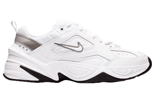 Pre-owned M2k Tekno Cool White (w) In White/cool Grey/black