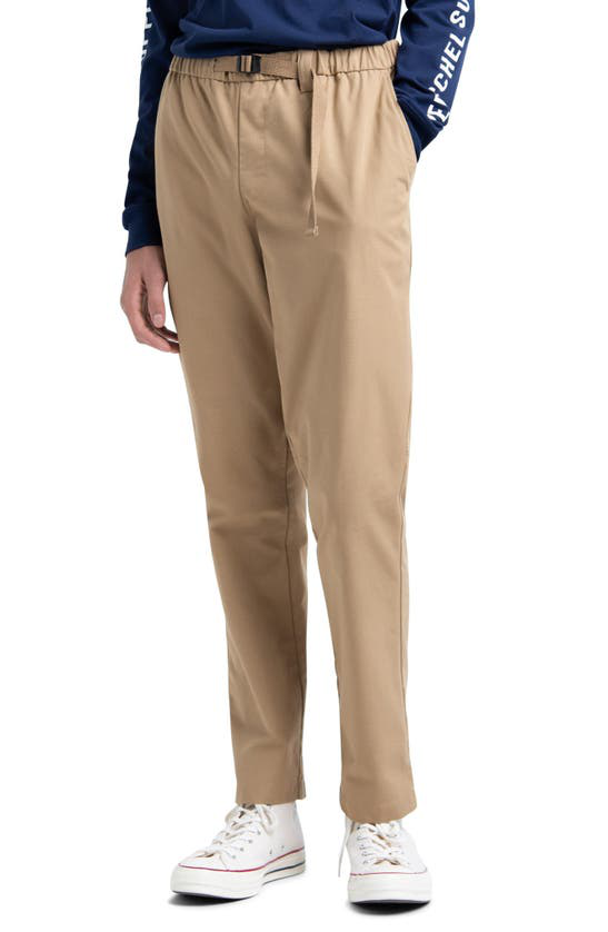 Herschel Supply Co. Ashland Pants In Khaki