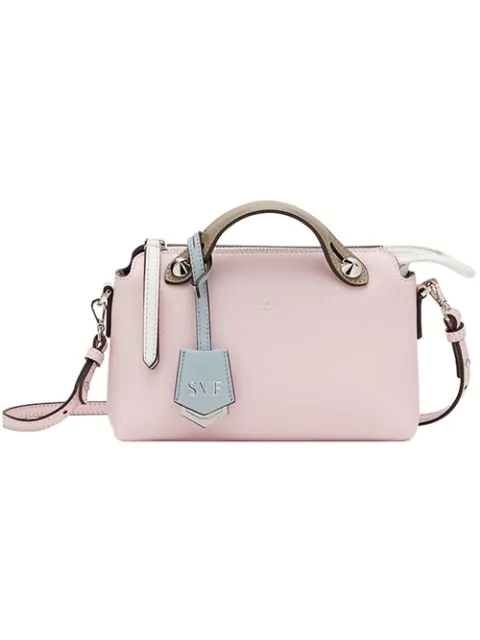 Fendi Kids' By The Way Tote In Pink