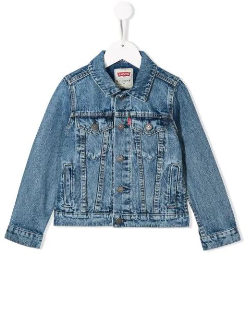 Levi's Kids' Classic Denim Jacket In Blue